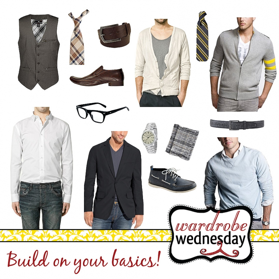 Outfit ideas for men by Wardrobe Wednesday and Morgan Dawson Photography
