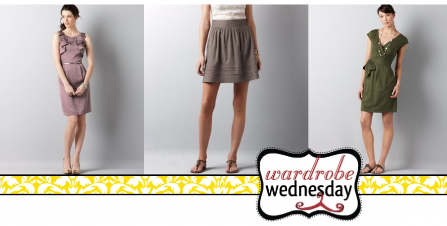 dresses to wear if you have a rectangle shape - wardrobe wednesday