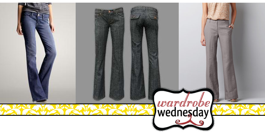 pants to wear if you have a rectangle shape - wardrobe wednesday
