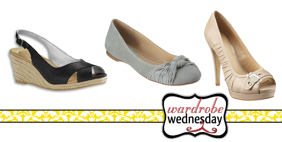 shoes to wear if you have a rectangle shape - wardrobe wednesday