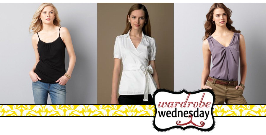 tops to wear if you have a rectangle shape - wardrobe wednesday