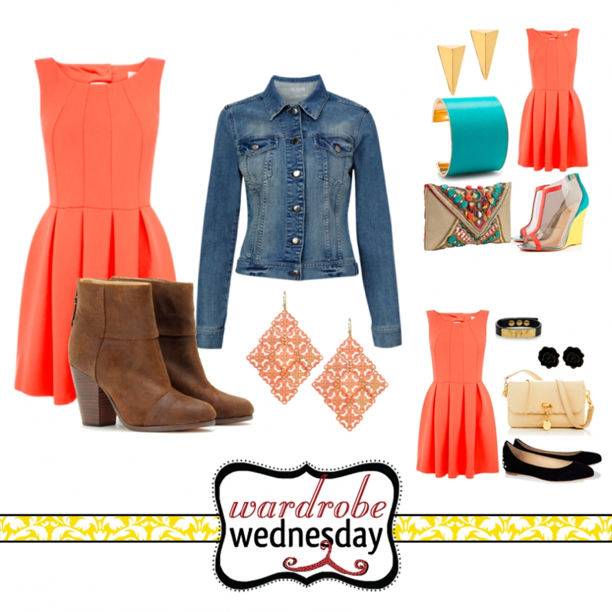 coral senior outfit